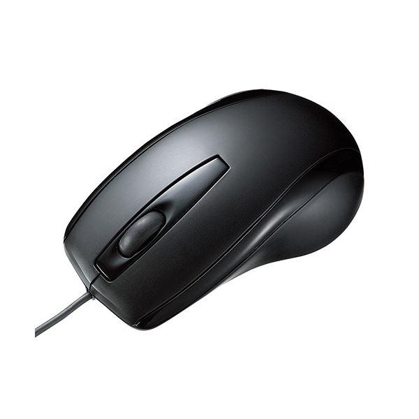 (まとめ) TANOSEE オプティカルスクロールマウス スタンダードタイプ USB有線 1個 【×10セット】