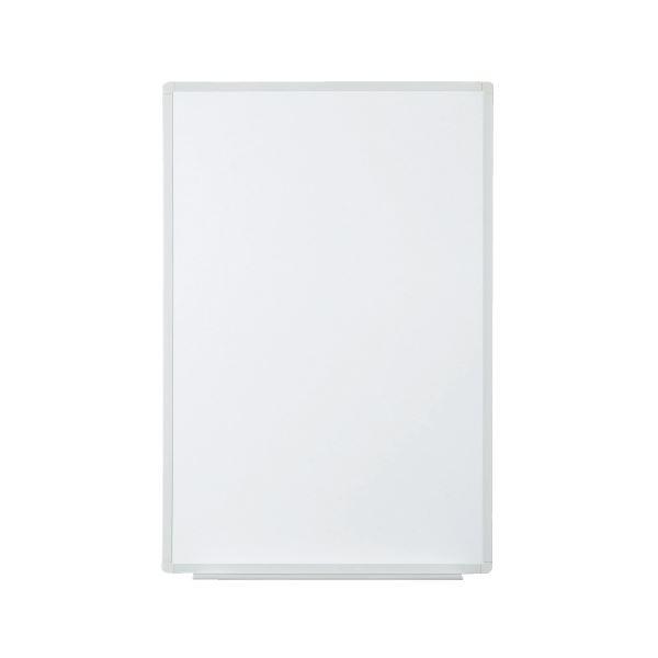 【送料無料】プラス 壁掛ホワイトボード 無地 縦型 幅580mm VSK2-0609SS