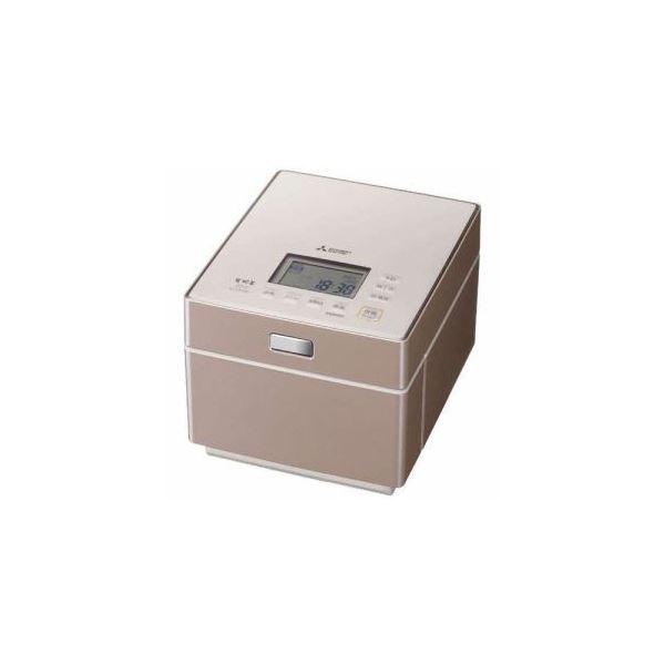 【送料無料】三菱 ジャー炊飯器 (5.5合炊き) テンダーロゼ NJ-XS108J-P