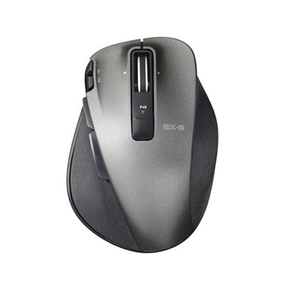 (まとめ)エレコム EX-G UltimateLaserマウス Sサイズ ブラック M-XGS20DLBK 1個【×3セット】