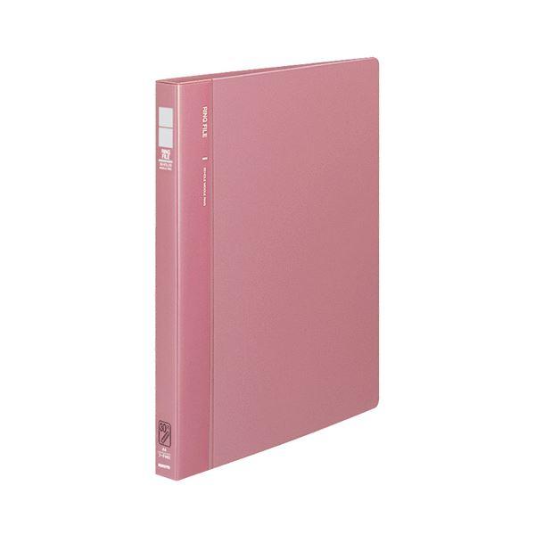 【送料無料】(まとめ) コクヨ リングファイル 発泡再生PP表紙A4タテ 30穴 120枚収容 背幅27mm ピンク フ-F460P 1冊 【×10セット】