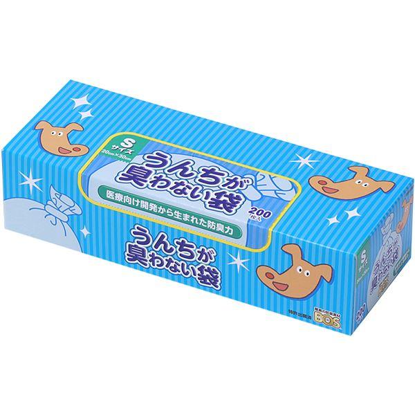 (まとめ)うんちが臭わない袋BOSペット用箱S200枚【×5セット】