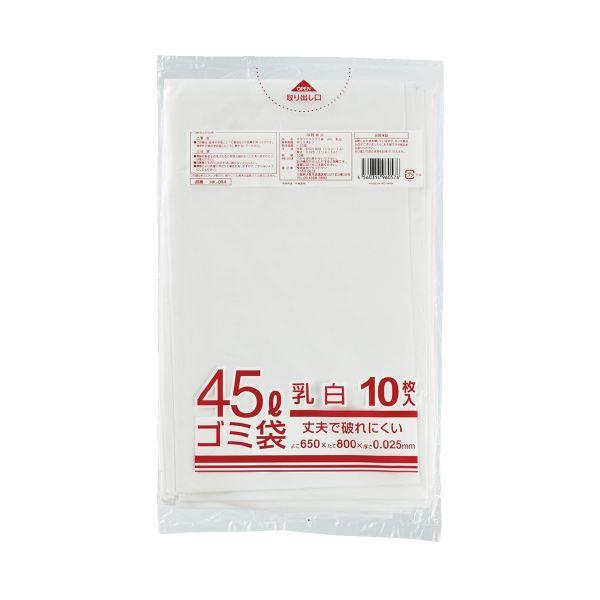 (まとめ)クラフトマン メタロセン配合ゴミ袋 半透明 45L 10枚(×100セット)