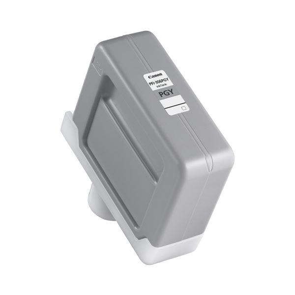 (まとめ) キヤノン Canon インクタンク PFI-306 顔料フォトグレー 330ml 6667B001 1個 【×3セット】