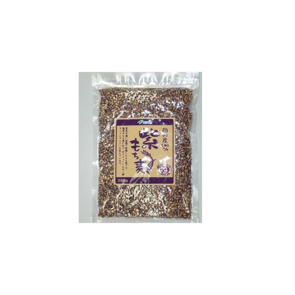 【送料無料】国内産100% 紫もち麦 280g【×28袋セット】
