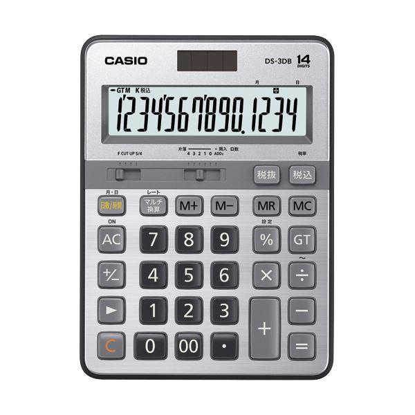 【送料無料】カシオ 本格実務電卓 14桁DS-3DB 1台