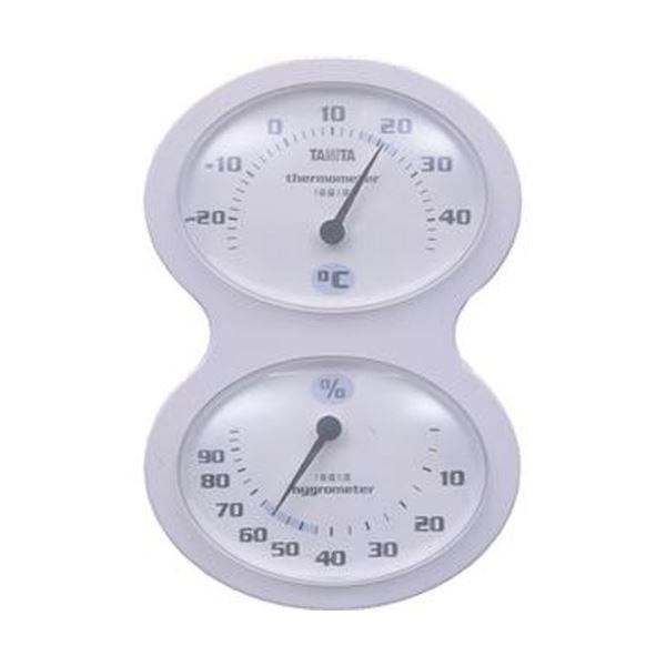 【送料無料】(まとめ)タニタ 温湿度計 ホワイトTT-509-WH 1個【×10セット】