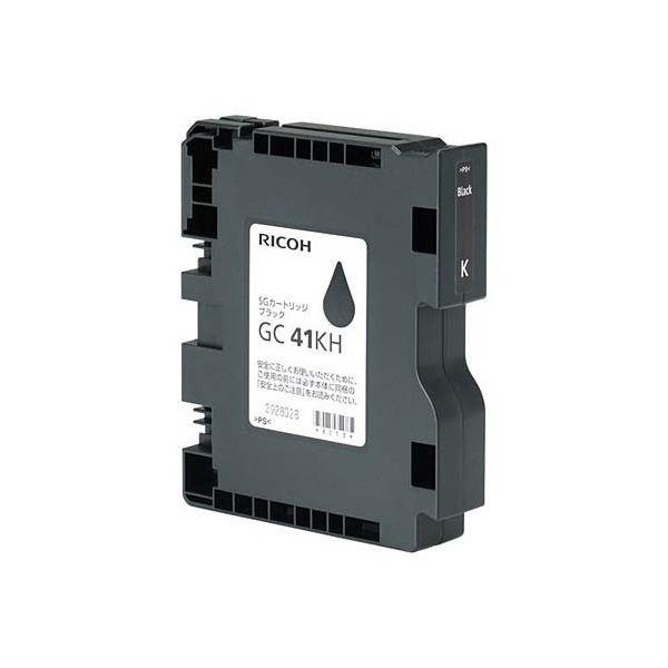 (まとめ)リコー SGカートリッジ GC41KHブラック Lサイズ 515825 1個【×3セット】