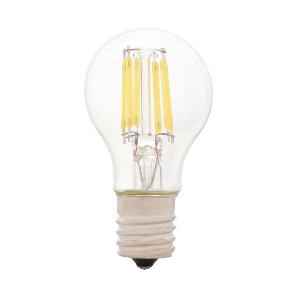 (まとめ)Panasonic LEDミニクリプトン球40形E17 昼白色(×10セット)