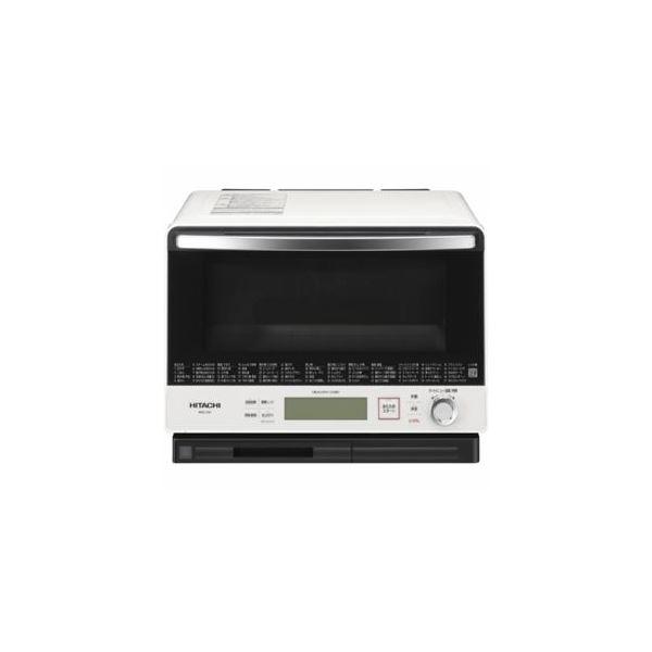 【送料無料】日立 過熱水蒸気オーブンレンジ 「ヘルシーシェフ」 30L パールホワイト MRO-VW1-W