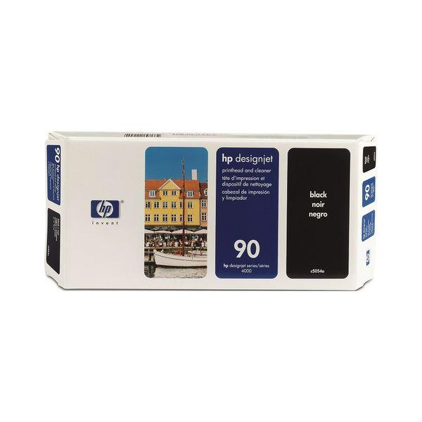 【送料無料】(まとめ) HP90 プリントヘッド/クリーナー 黒 C5054A 1個 【×10セット】