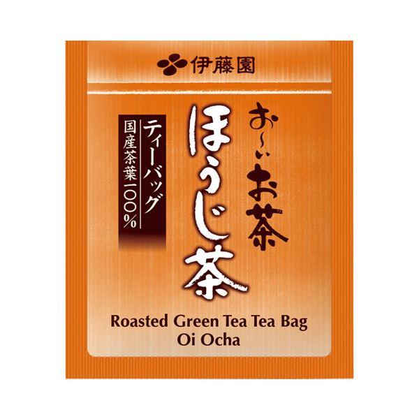 【送料無料】(まとめ)伊藤園 ほうじ茶ティーバッグ 20パック入【×50セット】