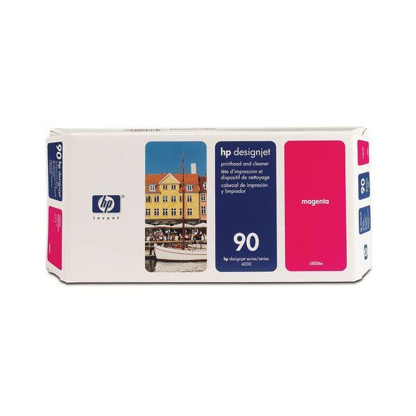 【送料無料】(まとめ) HP90 プリントヘッド/クリーナー マゼンタ C5056A 1個 【×10セット】