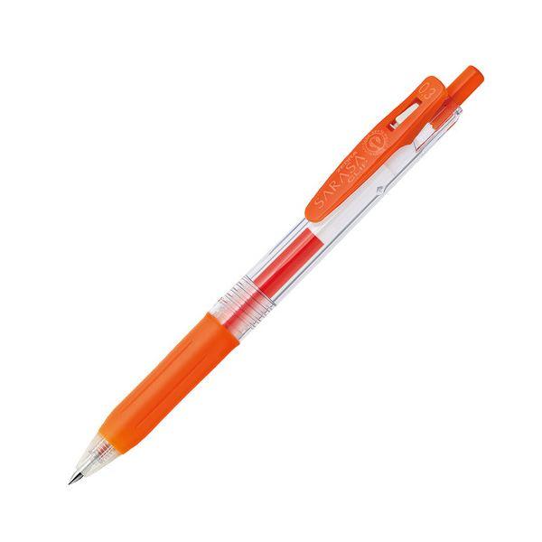 【送料無料】(まとめ) ゼブラ ゲルインクボールペン サラサクリップ 0.3mm レッドオレンジ JJH15-ROR 1本 【×100セット】