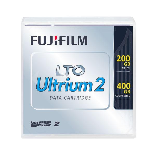 【送料無料】(まとめ)富士フィルム FUJI LTO Ultrium2 データカートリッジ 200GB LTO FB UL-2 200G J 1巻【×3セット】
