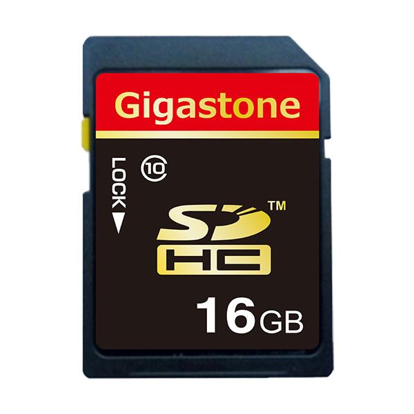 【送料無料】(まとめ) Gigastone SDHCカード16GB class10 GJS10/16G 1枚 【×10セット】