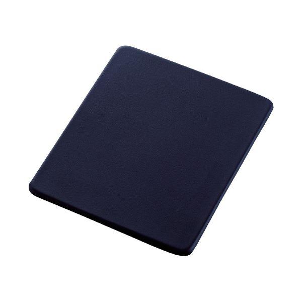 (まとめ)エレコム マウスパッドソフトレザーMP-SL01NV(×30セット)