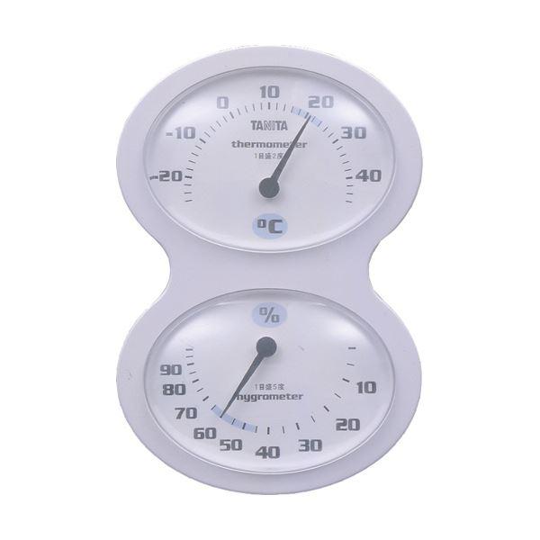 【送料無料】(まとめ)タニタ 温湿度計 ホワイトTT-509-WH 1個【×5セット】