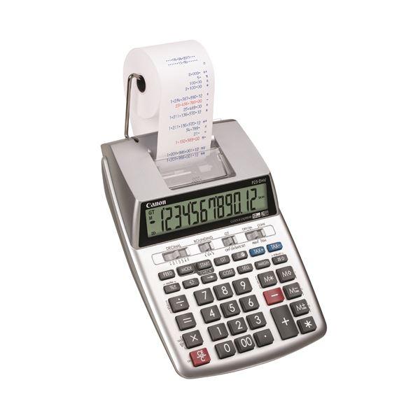 【送料無料】キヤノン プリンタ電卓P23-DHV-3 2色印字 12桁 2279C005 1台