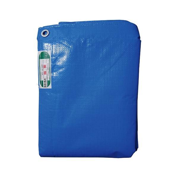 【送料無料】(まとめ) 萩原工業 防炎ブルーシート#3500 3.6×5.4m【×3セット】