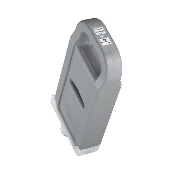 【送料無料】キヤノン インクタンクPFI-701GY 顔料グレー 700ml 0909B001 1個
