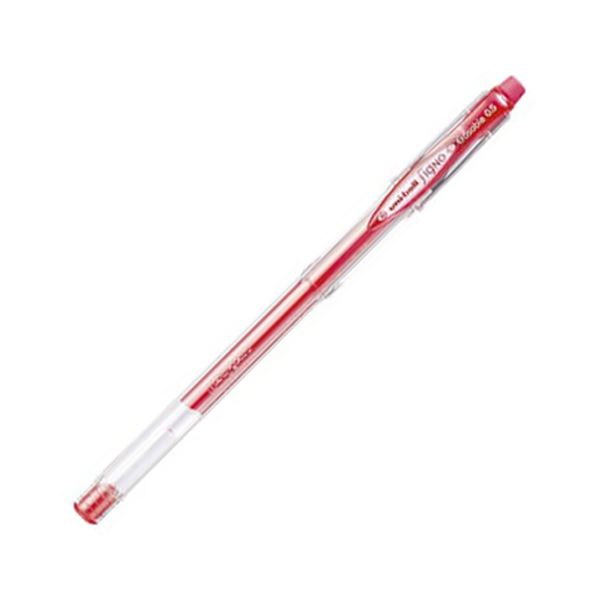 【送料無料】(まとめ) 三菱鉛筆 ゲルインクボールペンユニボール シグノ イレイサブル 0.5mm 赤 UM101ER05.15 1本 【×100セット】
