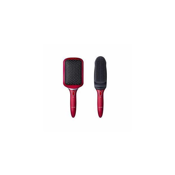 コイズミ スカルプ&リセットブラシ レッド KBE-3500R