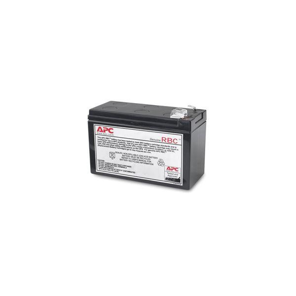 【送料無料】APC(シュナイダーエレクトリック)UPS交換用バッテリキット BR400G-JP・BR550G-JP・BE550G-JP用 APCRBC122J1個