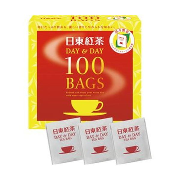 【送料無料】(まとめ)日東紅茶 デイ&デイティーバッグ 1.8g 1セット(600バッグ:100バッグ×6箱)【×3セット】