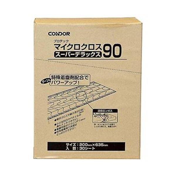 【送料無料】(まとめ)山崎産業 プロテック マイクロクロススーパーデラックス90 200×935mm MO361-090X-MB 1パック(30枚)【×3セット】