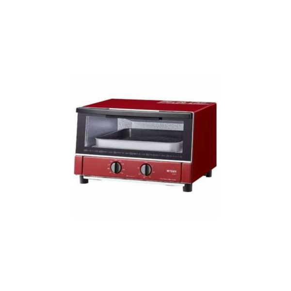【送料無料】タイガー オーブントースター やきたて グロスレッド KAM-S130-RG