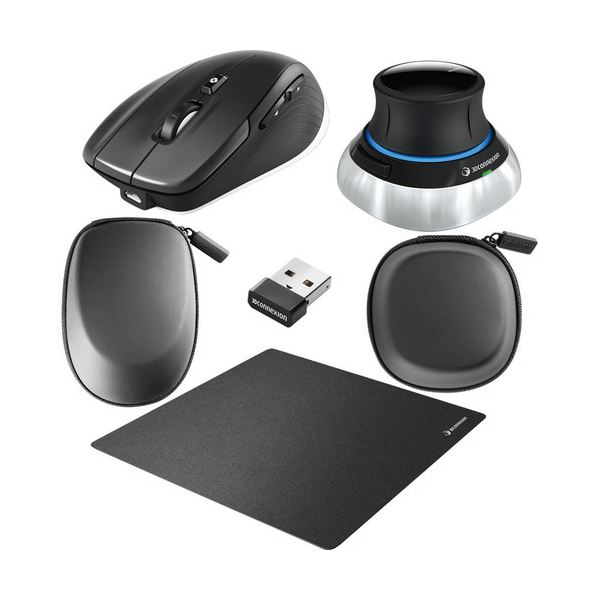 3Dコネクション SpaceMouseWireless Kit SMWK 1個