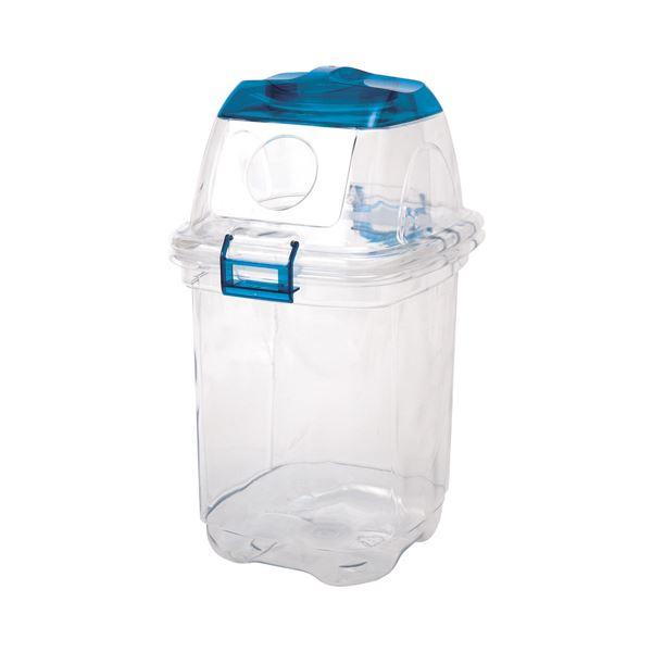 (まとめ) 積水テクノ成型 透明エコダスター 本体(フタ別売り) 35L TPDB3T 1台 【×5セット】