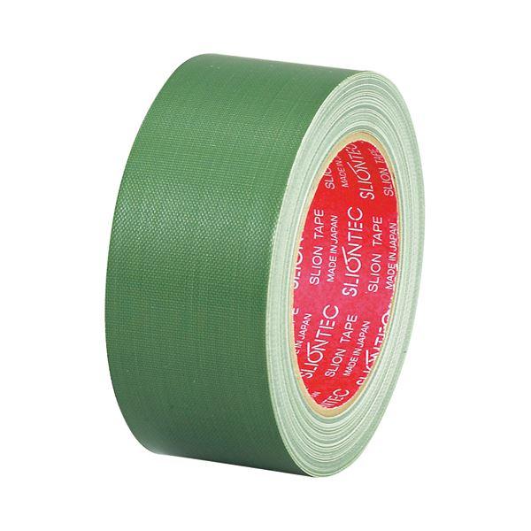 【送料無料】(まとめ) スリオンテック 布粘着テープ No.3390 50mm×25m 緑 No.3390-50GR 1巻 【×30セット】