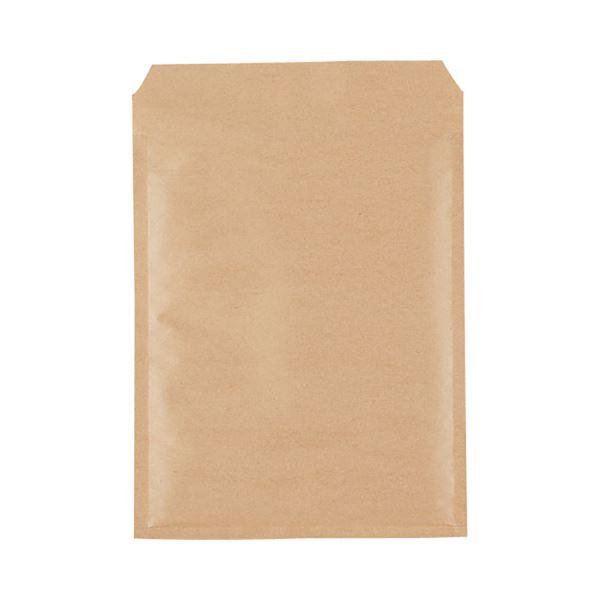 (まとめ)TANOSEE クッション封筒エコノミー CD2枚組用 内寸210×270mm 茶 1パック(150枚)【×3セット】