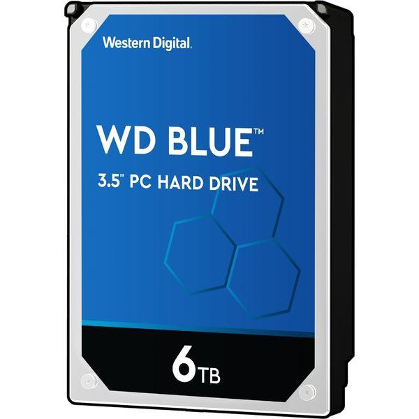 WD Blueシリーズ 3.5インチ内蔵HDD 6TB SATA3(6Gb/s) 5400rpm256MB