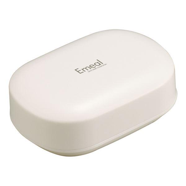 【送料無料】(まとめ) 石鹸箱/石鹸置き 【ホワイト】 バス用品 『Emeal エミール』 【80個セット】
