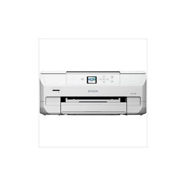 高い基本性能を凝縮した、コンパクトサイズモデル。 【送料無料】エプソン Colorio インクジェット複合機 EP-713A ホワイト 1台