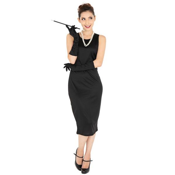 【送料無料】コスプレ衣装/コスチューム 【Black dress(ブラックドレス)】 『CLUB QUEEN』 レディース 〔ハロウィン イベント〕