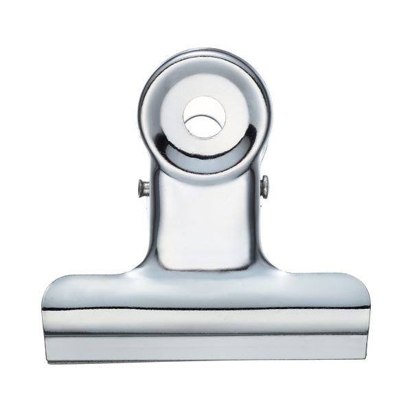 【送料無料】(まとめ) TANOSEE 目玉クリップ 小 口幅38mm 1箱(10個) 【×50セット】
