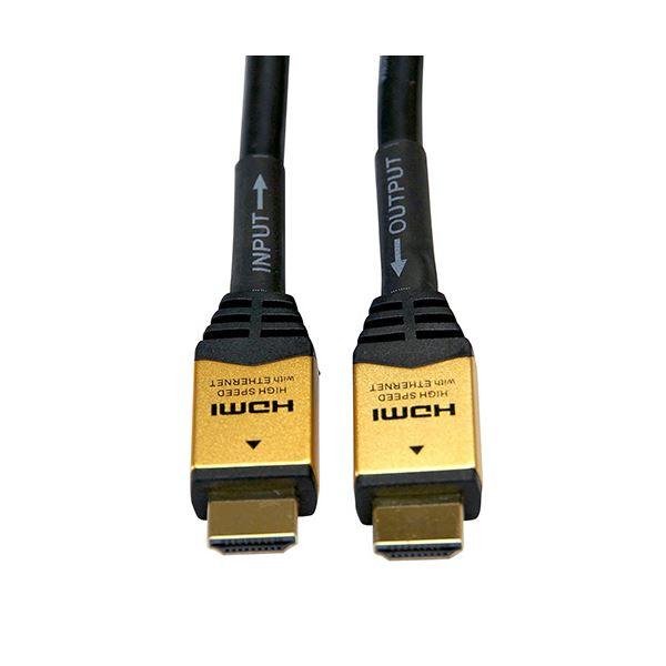 【送料無料】(まとめ)ホーリック イコライザー付き 長尺HDMIケーブル ゴールド 25m HDM250-012 1本【×3セット】