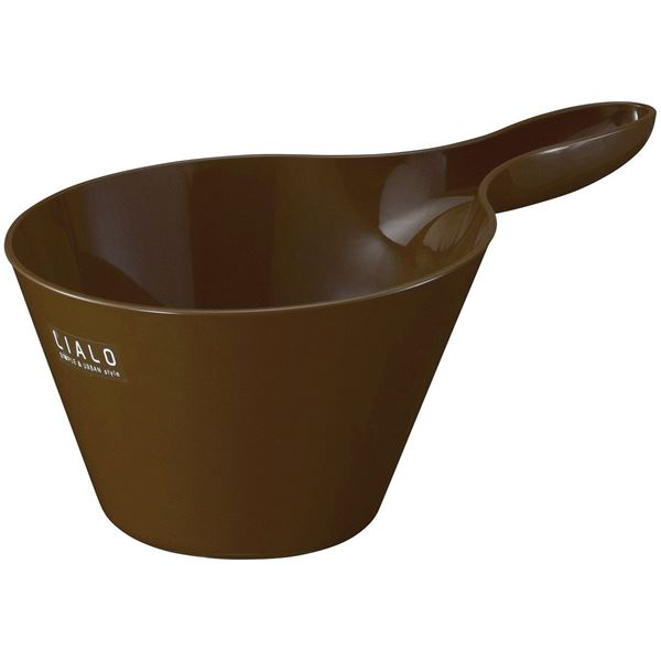 【送料無料】(まとめ) 抗菌 ハンドペール/手桶 【ブラウン】 銀イオン配合 バス用品 『LIALO リアロ』 【60個セット】