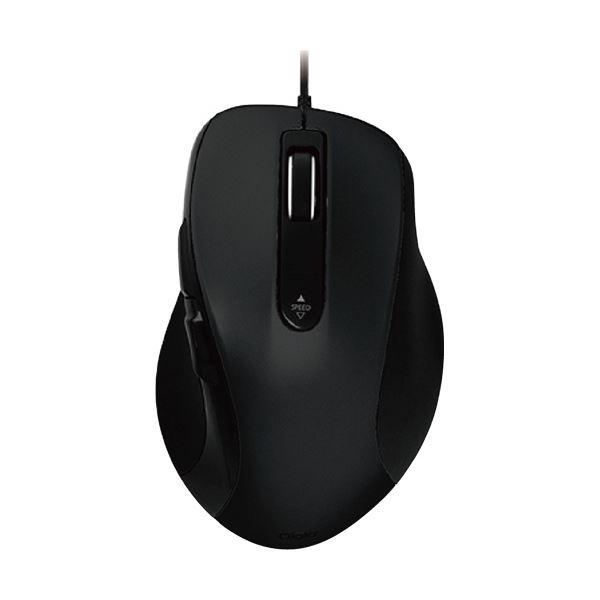 【送料無料】(まとめ) ナカバヤシ有線静音5ボタンブルーLEDマウス ブラック MUS-UKF108BK 1個 【×5セット】