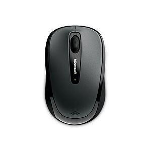 (まとめ) マイクロソフト ワイヤレス モバイルマウス 3500 ユーロシルバー GMF-00011 1個 【×5セット】
