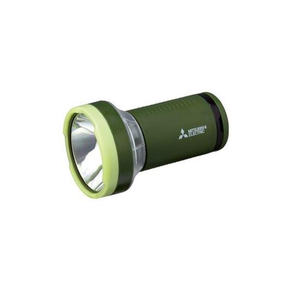 送料無料 まとめ ブランド激安セール会場 三菱電機 休み LEDランタンライト CL-9301G ×5セット グリーン