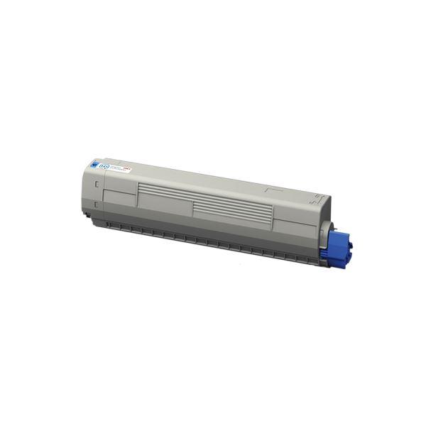 【送料無料】沖データ 小容量トナーカートリッジ シアン TNR-C3LC3 1個