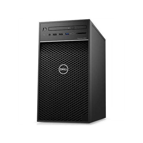 【送料無料】DELL Precision Tower 3630 (Windows 10 ProWorkstations/16GB/Xeon E-2224G/256GB+1TB/P2200/3年保守/Officeなし) DTWS014-016N3