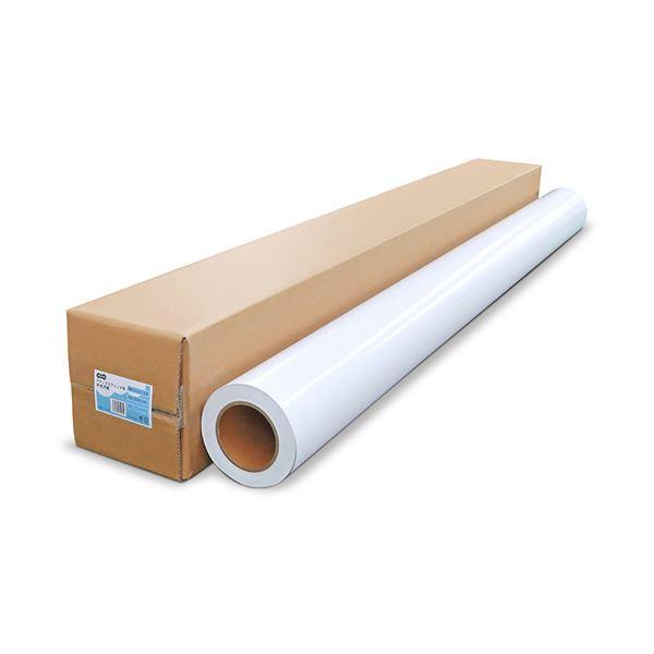 【送料無料】TANOSEE ラテックスプリンタ用半光沢紙 54インチロール 1370mm×50m 3インチコア 1本