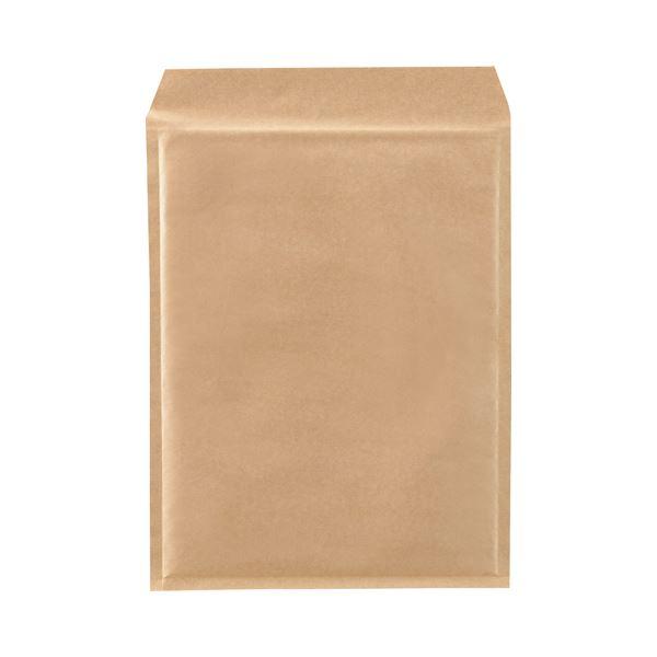 (まとめ)TANOSEE クッション封筒エコノミー A4ワイド用 内寸260×350mm 茶 1パック(100枚)【×3セット】