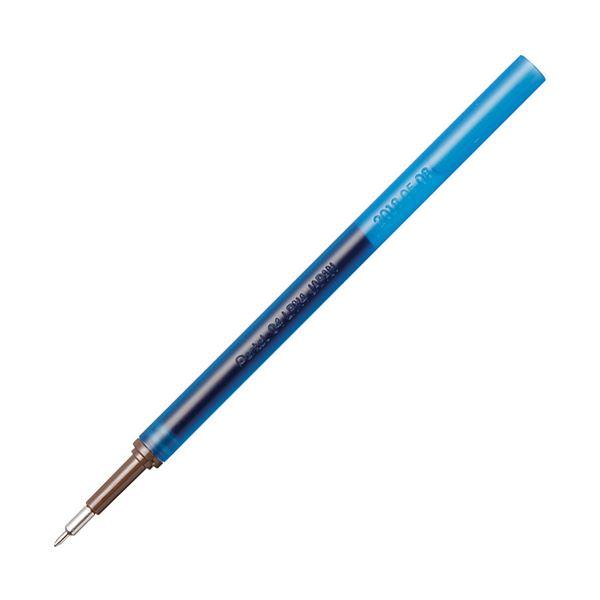 【送料無料】(まとめ)ぺんてる ゲルインキボールペン ノック式エナージェル インフリー 替芯 0.4mm ブルー XLRN4TL-C 1セット(10本)【×10セット】